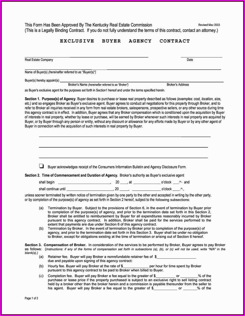 Free Standard Form Of Store Lease New York