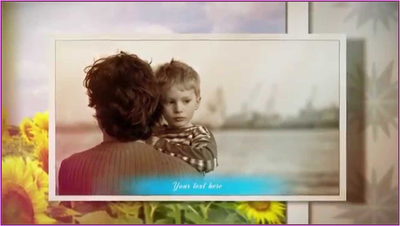 Funeral Slideshow Template After Effects