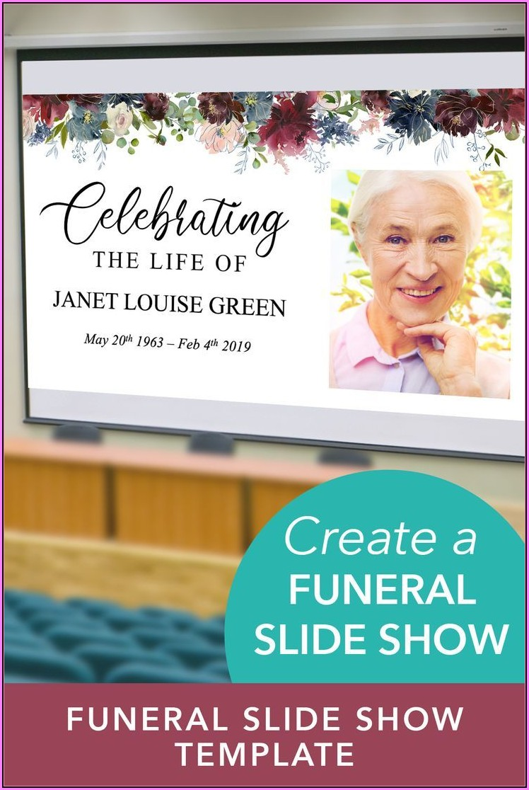 Funeral Slideshow Template Powerpoint