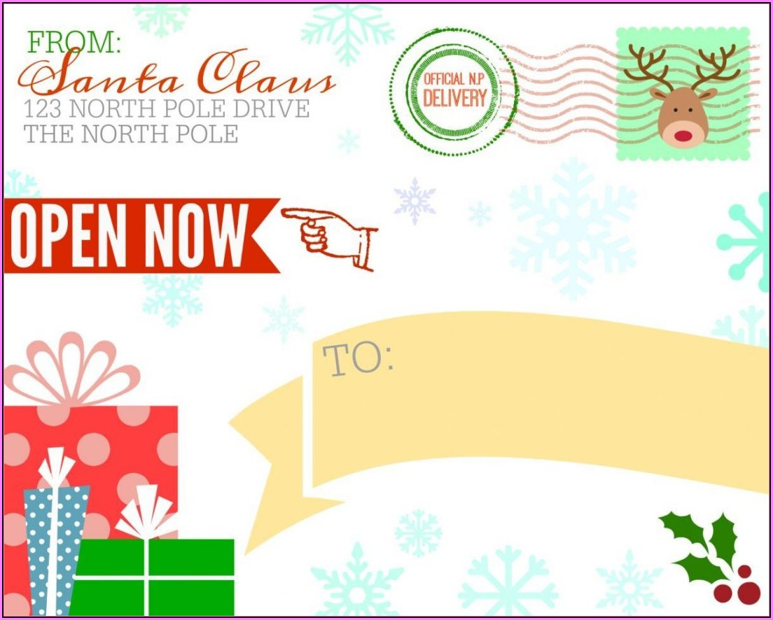 Gift Label Template Microsoft Word
