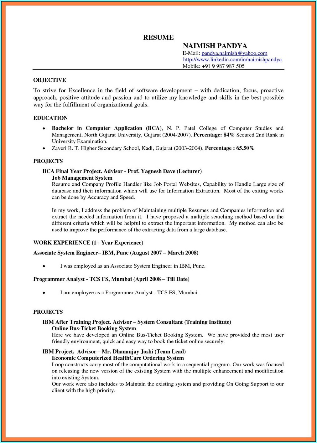 Google Drive Resume Templates Free