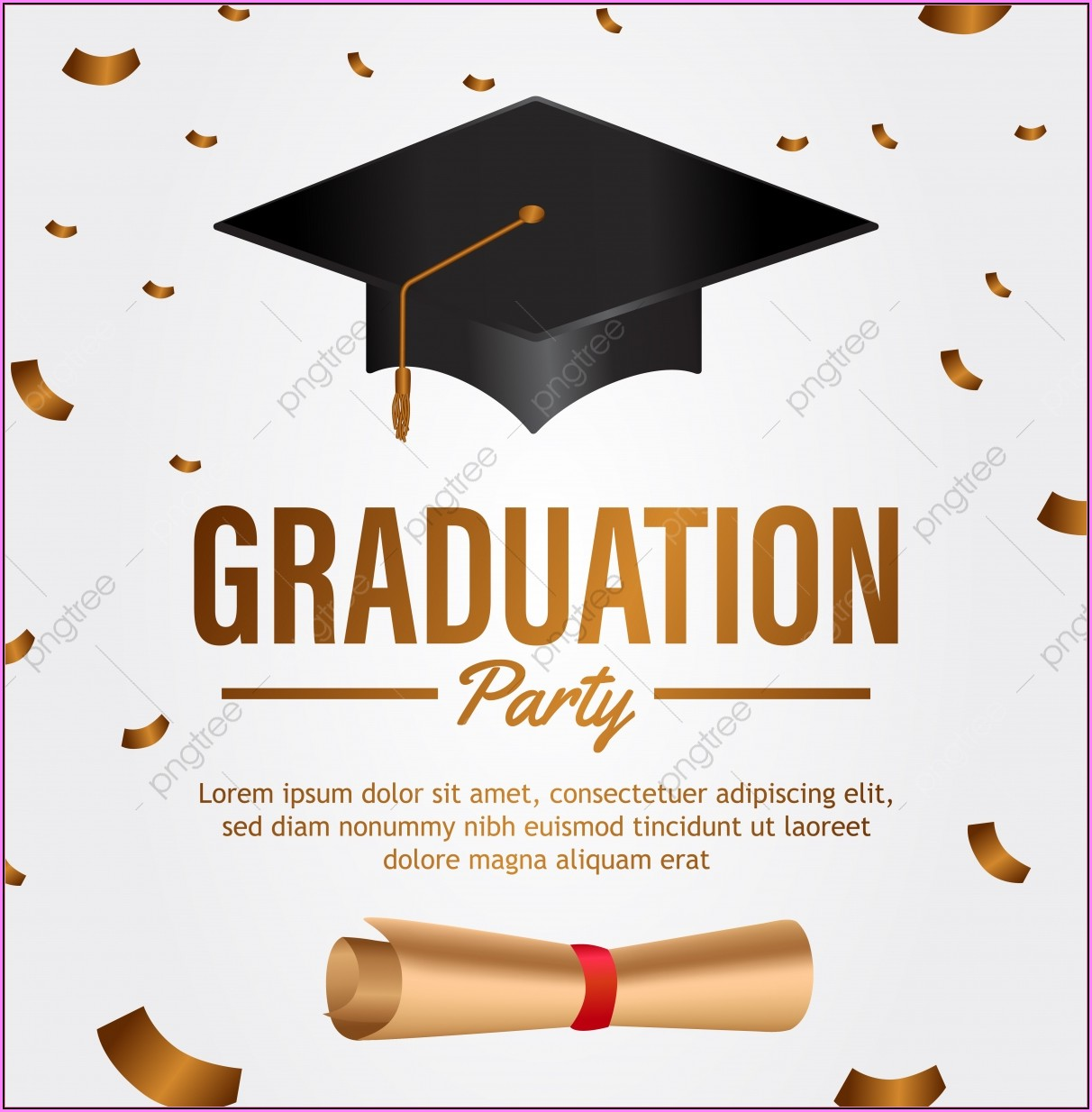 Graduation Invitation Template Free Download