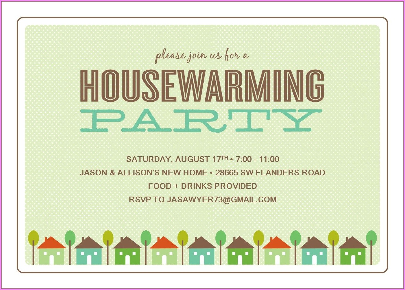 Housewarming Party Invitation Designs