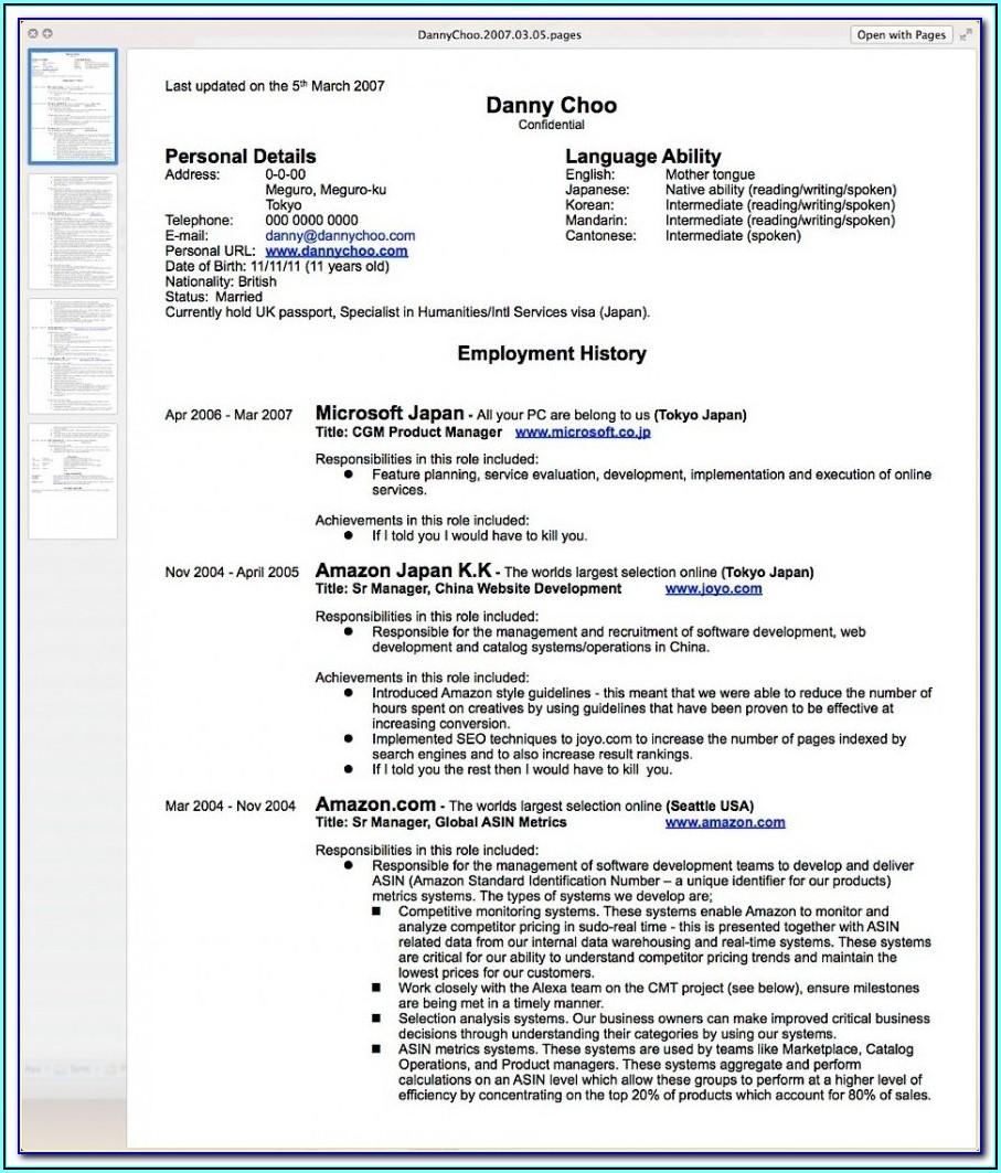 How Do You Write Up A Resume