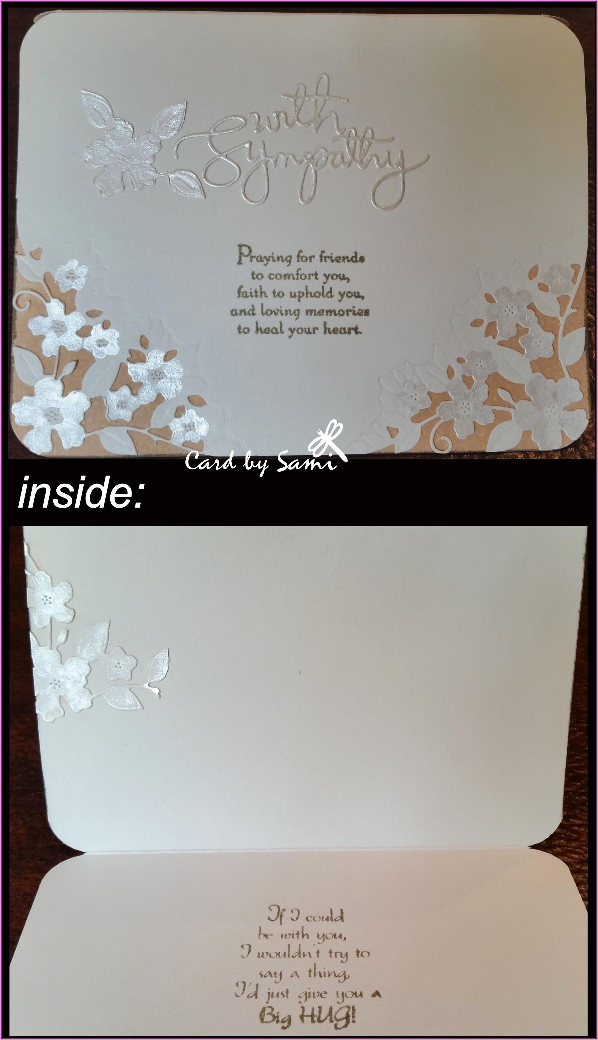 In Loving Memory Card Template