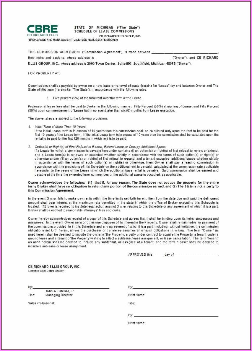 International Sales Commission Agreement Template Free
