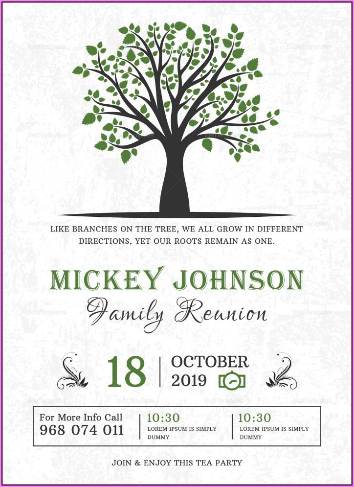 Invitations Templates Free