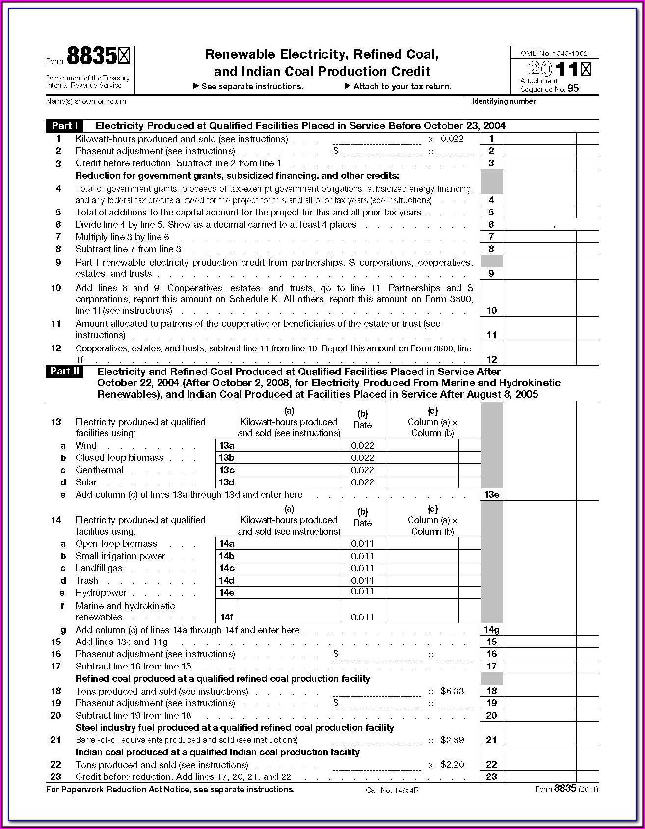 Irs Form 1040ez 2013 Printable