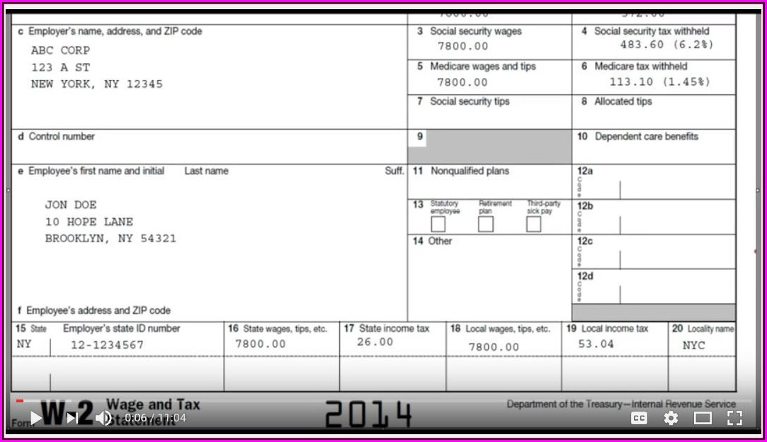 Irs Form W 9 2019 Fillable