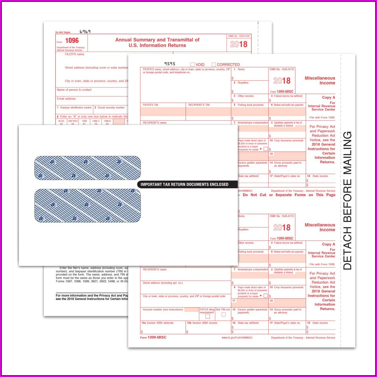 Irs Forms 1096 Misc 2018