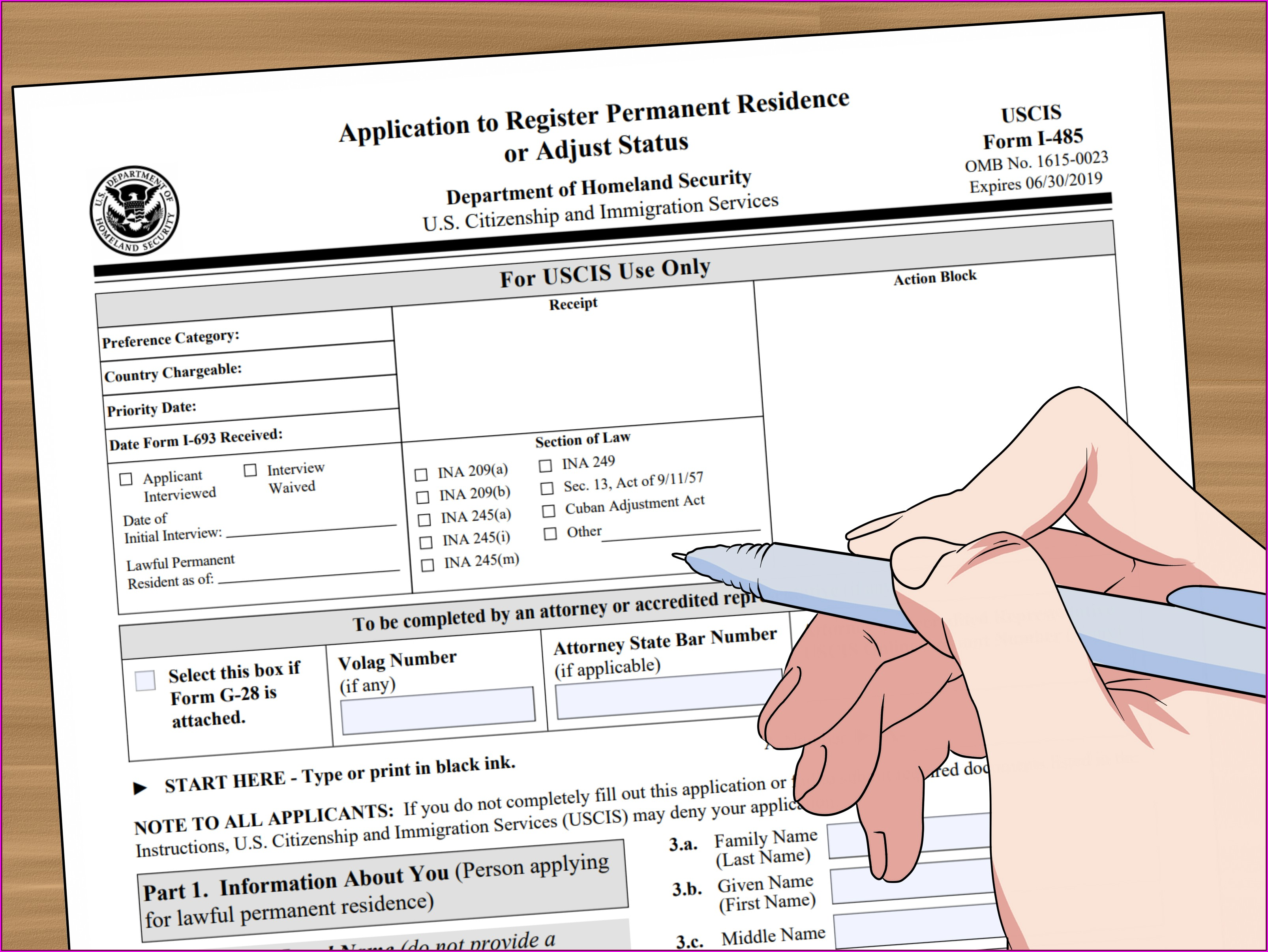 K3 Visa Application Form
