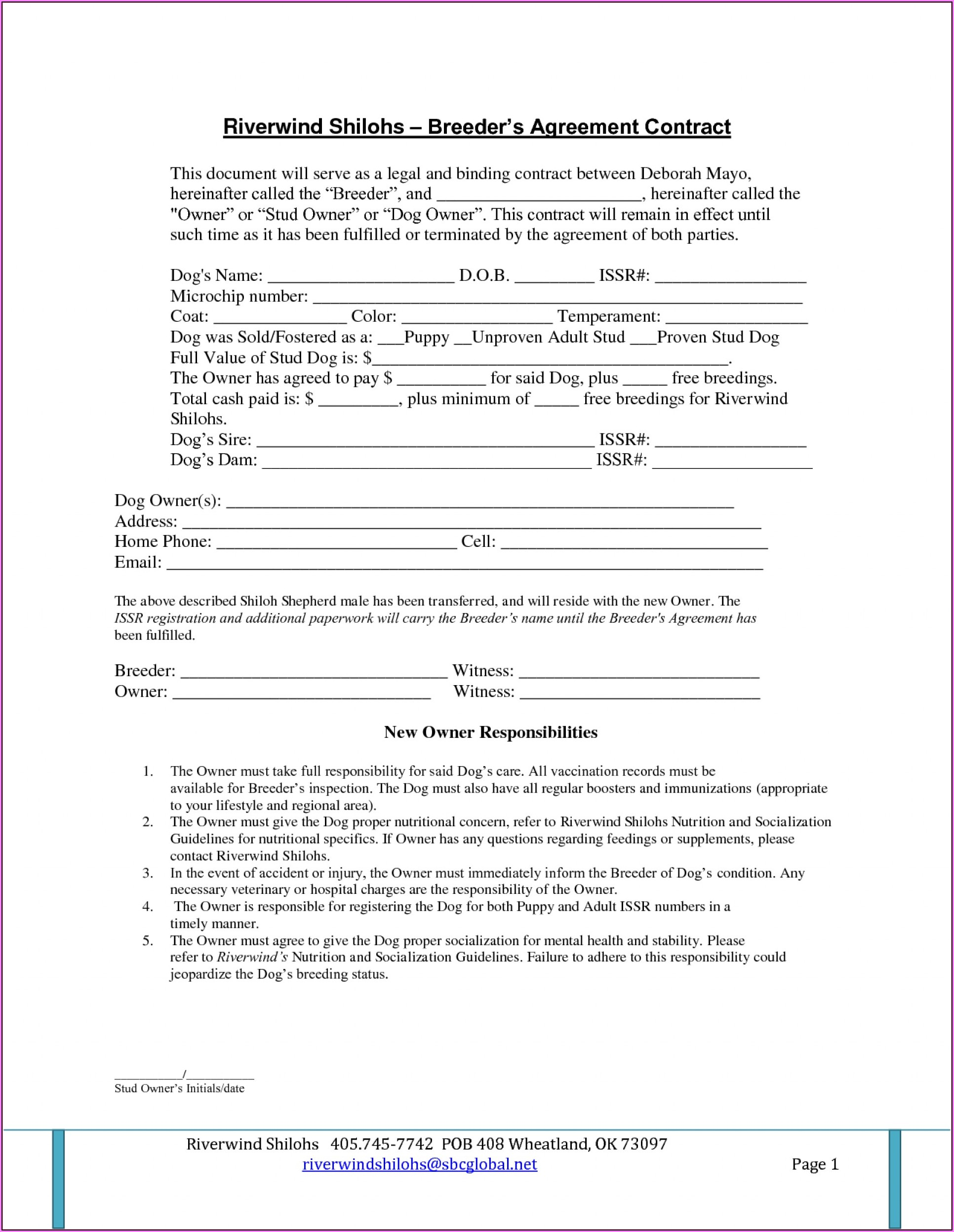 Legally Binding Agreement Template Free