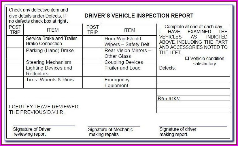 Lyft Michigan Vehicle Inspection Form