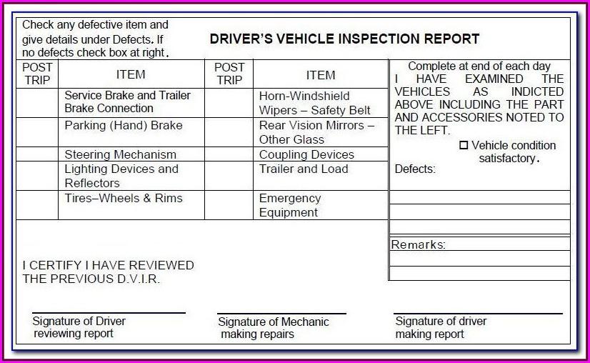 Lyft Michigan Vehicle Inspection Form
