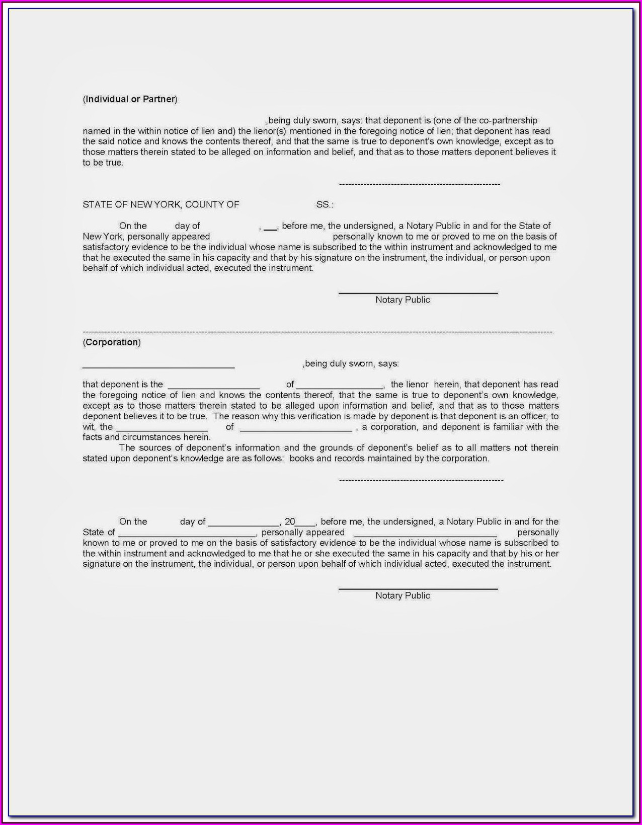 Mechanics Lien Release Form Texas