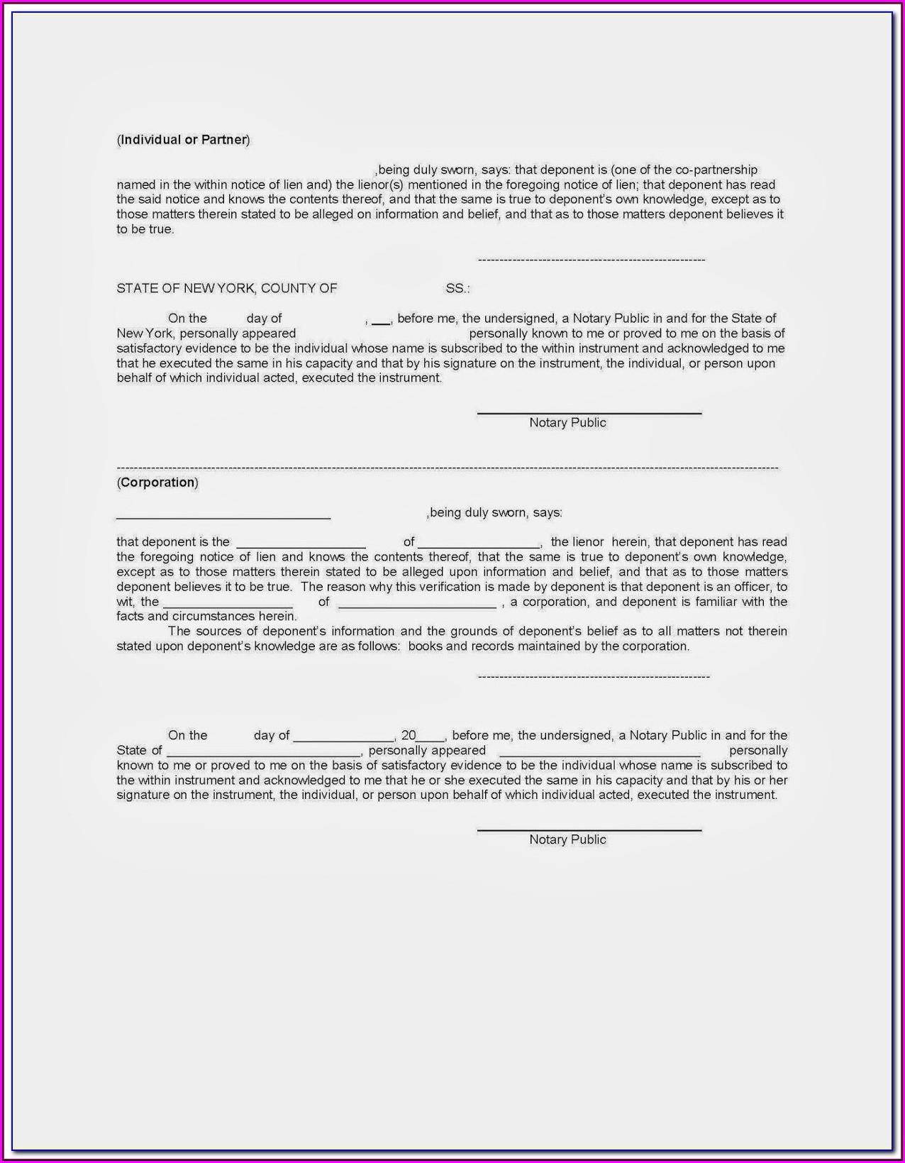 Mechanics Lien Release Form Texas