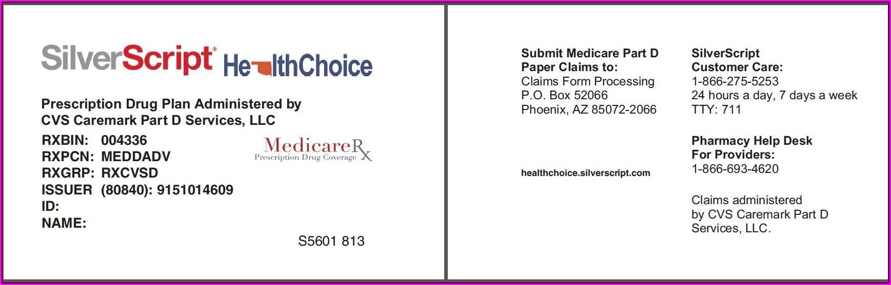 Medicare Card Enrolment Form