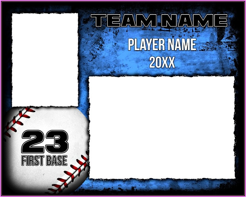 Memory Mate Template Baseball