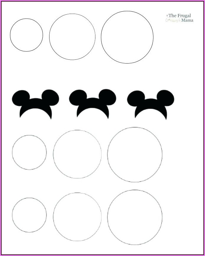 Mickey Mouse Clubhouse Blank Invitation Template Free Download