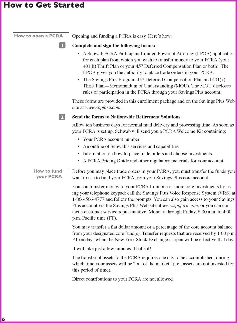 Nationwide Retirement Plan Forms