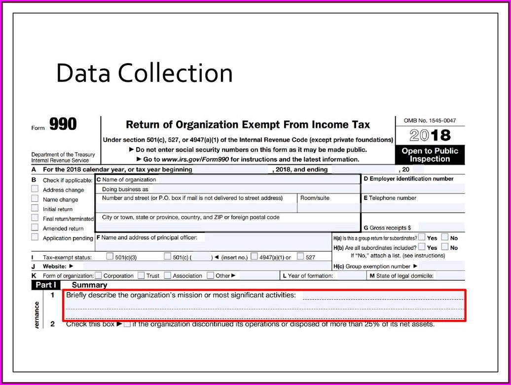 Nonprofit Form 990 Lookup