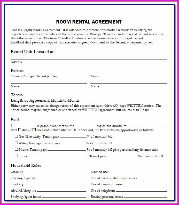 Nyc Rent Stabilized Lease Form Pdf