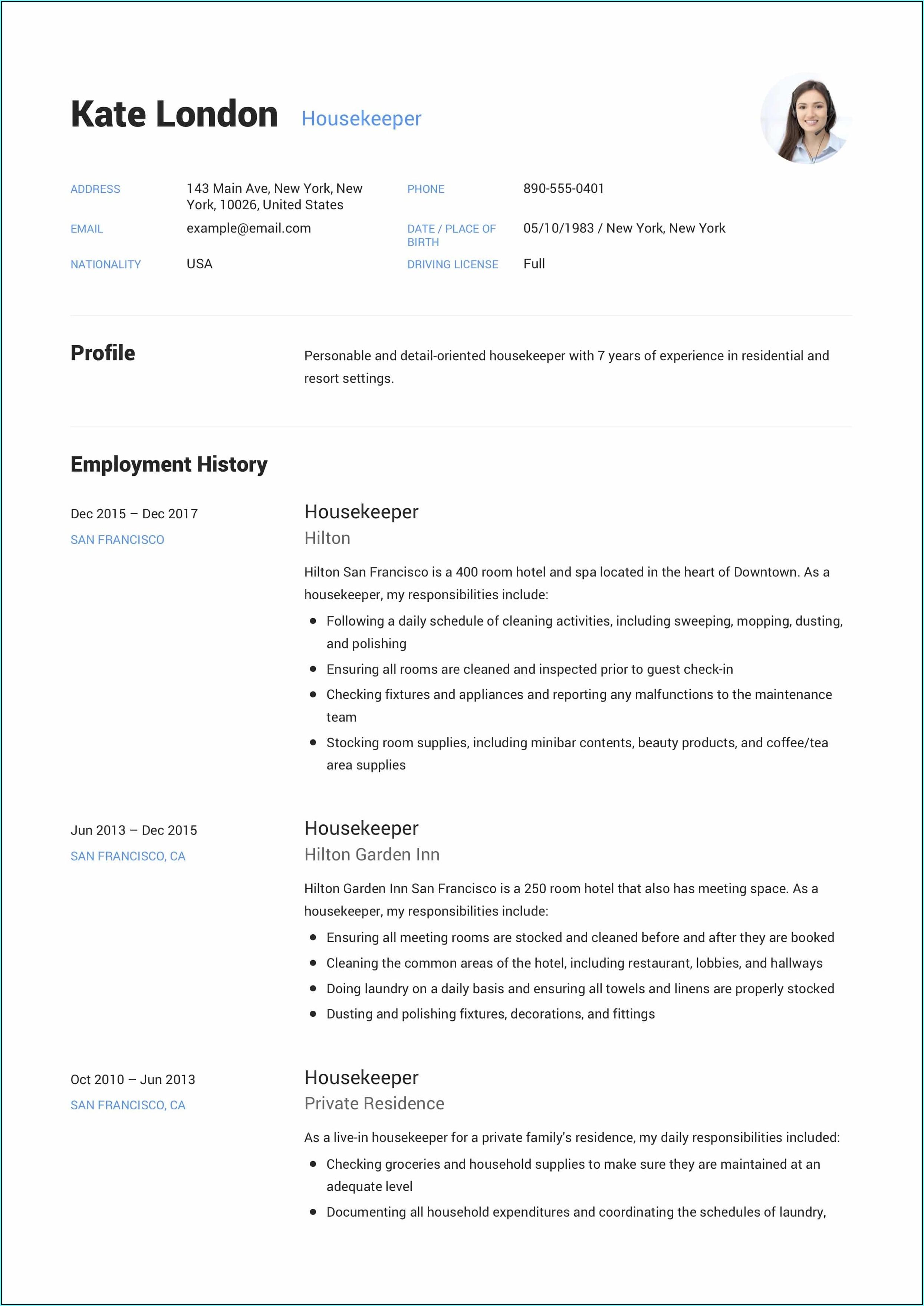 Online Free Resume Build