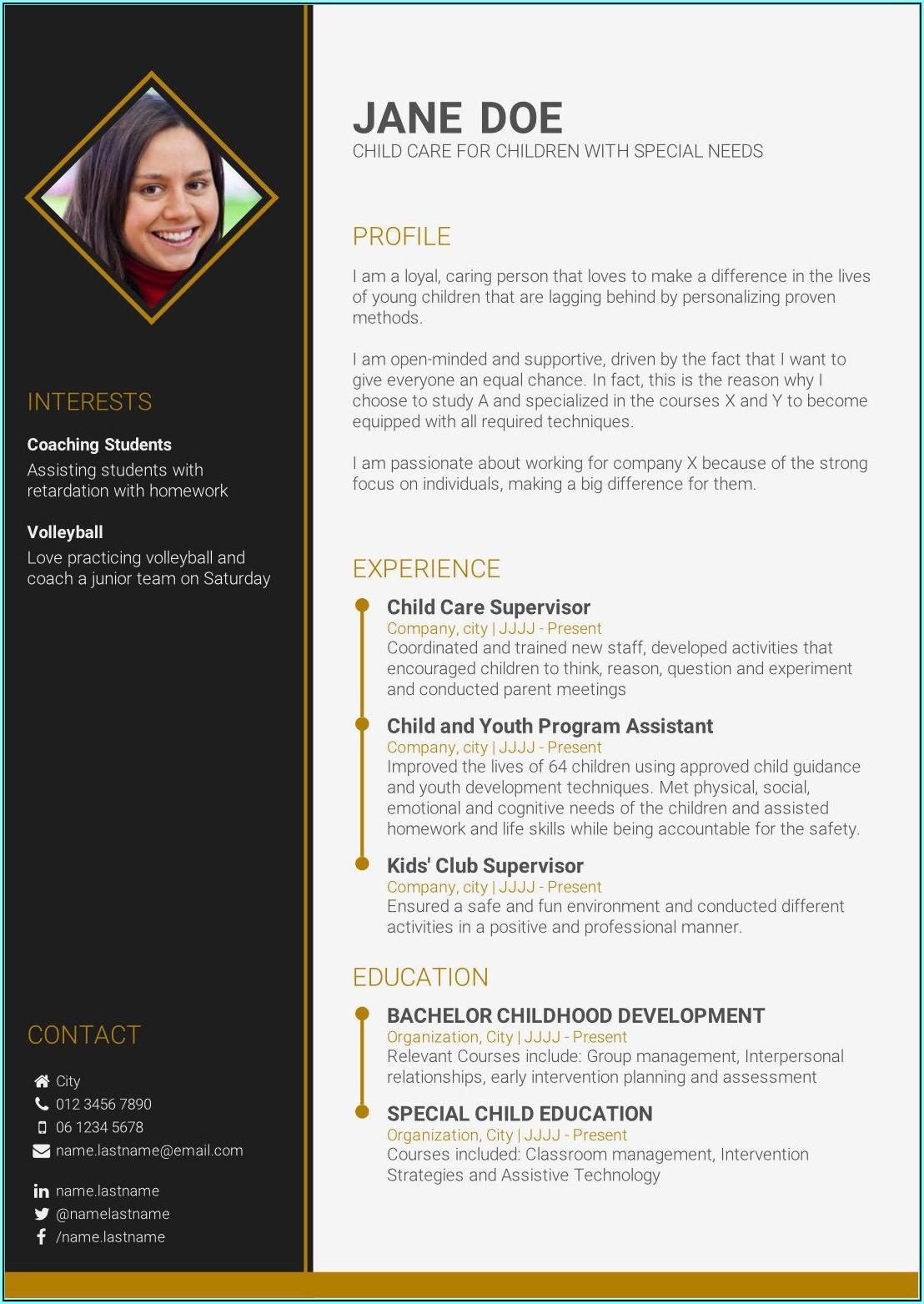 Online Free Resume Making