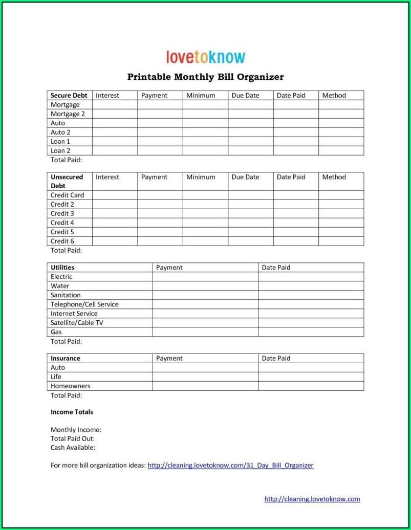 Personal Invoice Templates