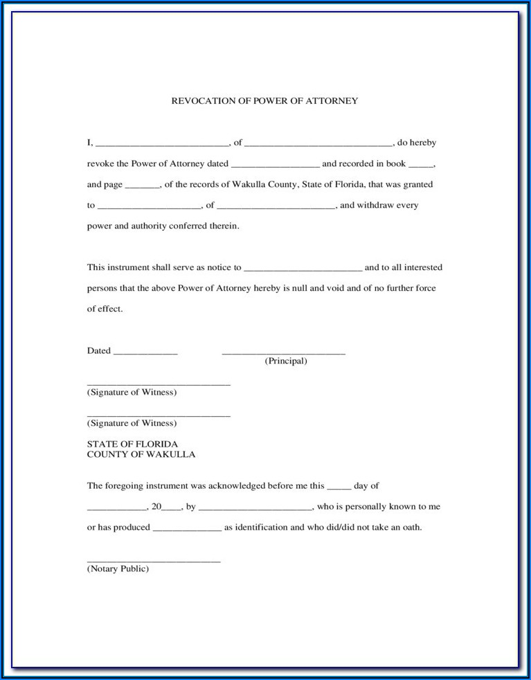 Printable Medical Power Of Attorney Form Nc