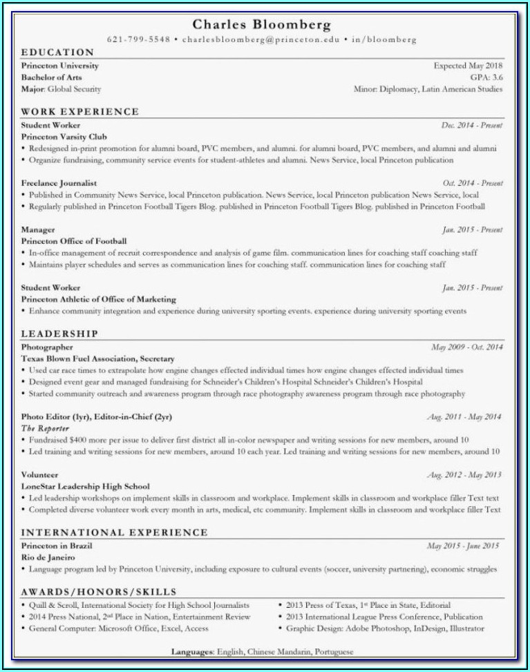 Professional Resume Writers Nyc
