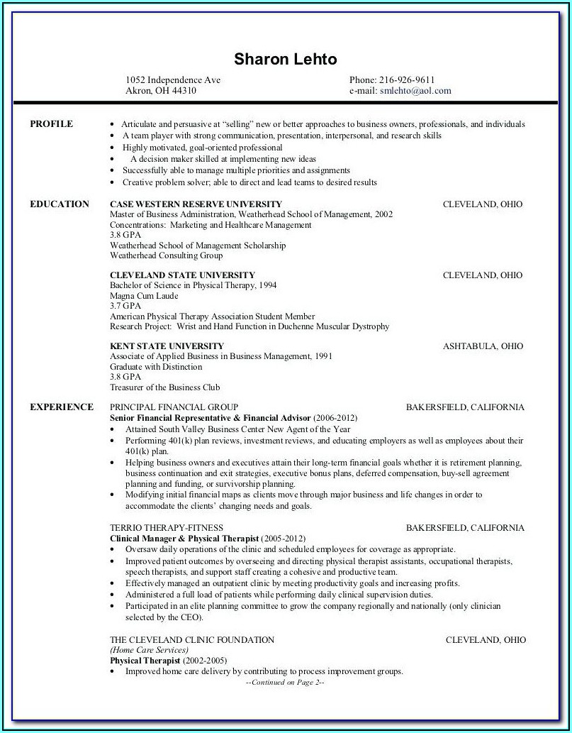 Professional Resume Writing Service Cincinnati