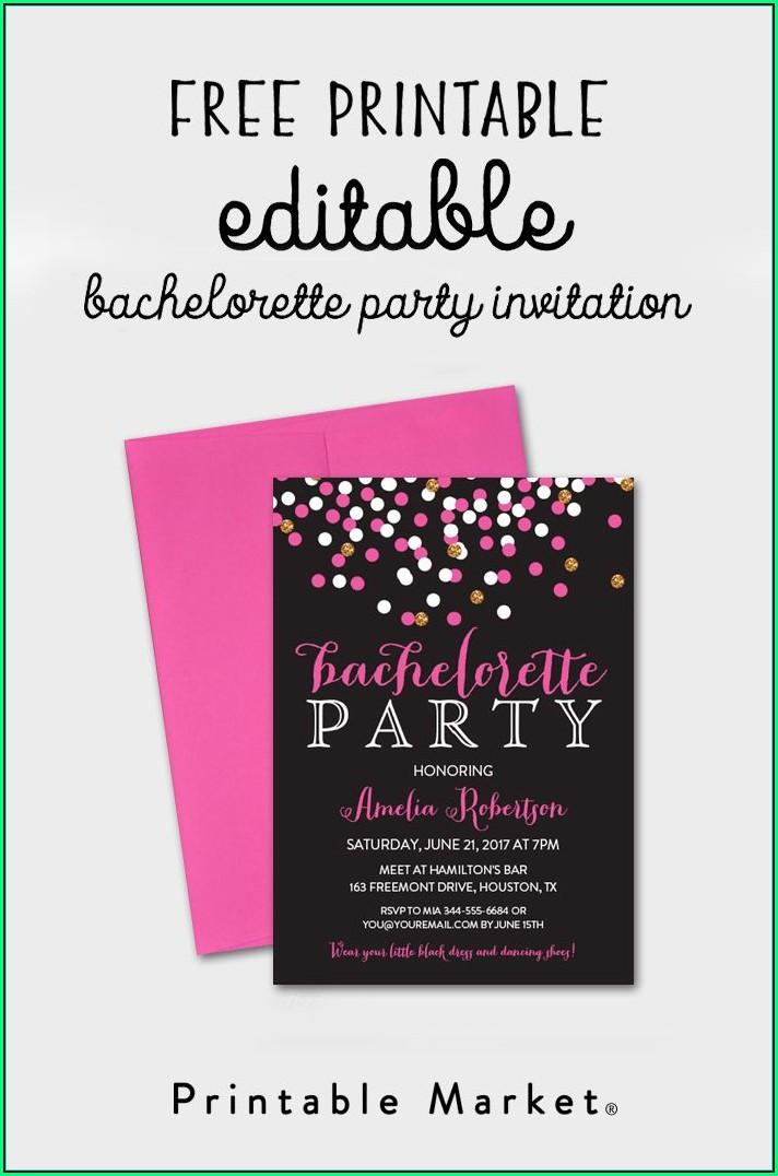 Prom Invitation Templates Free Download