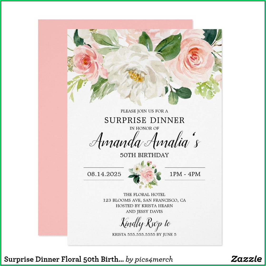 Quinceanera Party Invitation Templates
