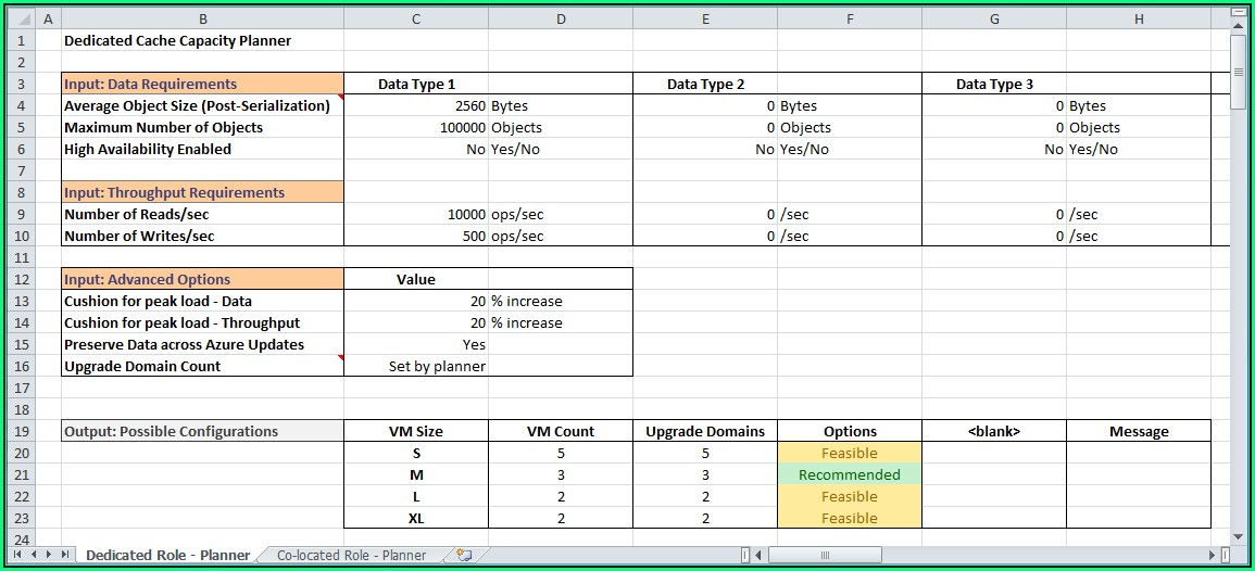 Resource Planning Template Excel Free