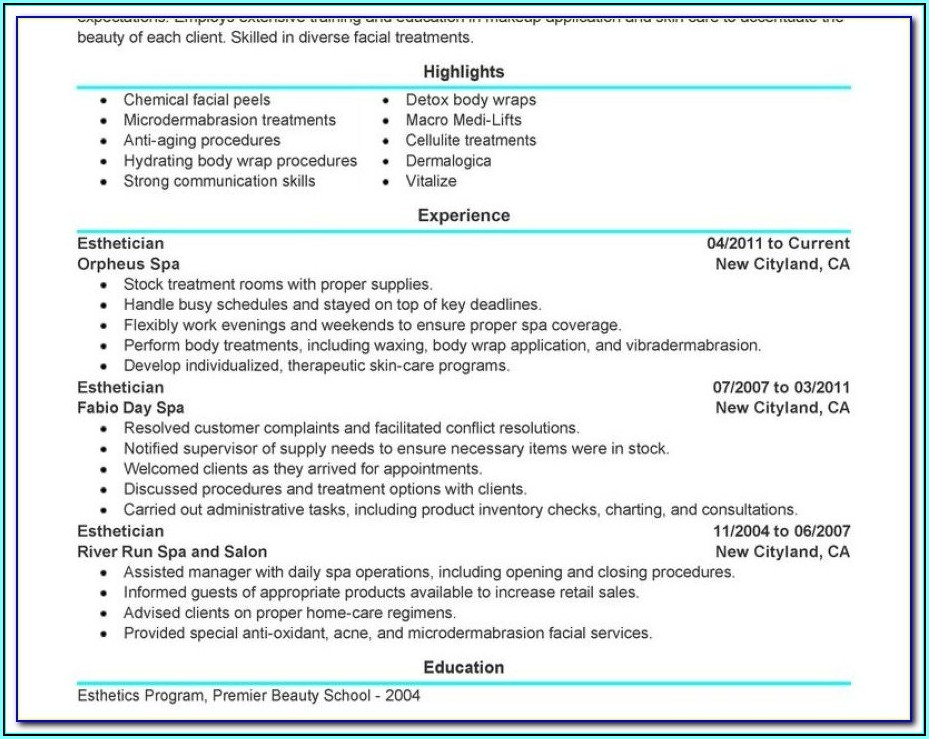 Resume Programs For Mac