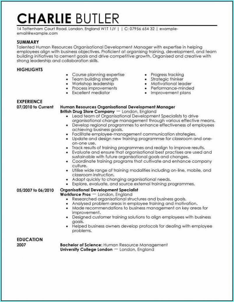 Resume Sample For Rn Bsn