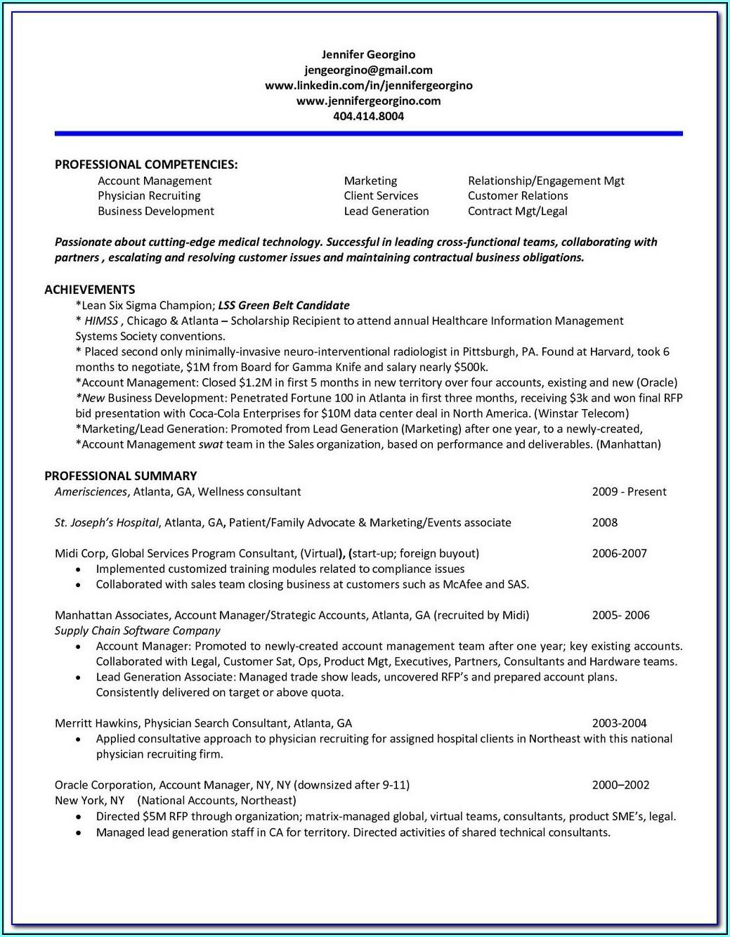 Resume Service Atlanta Ga