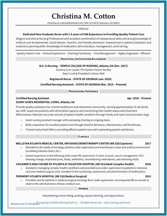 Resume Services Seattle Area