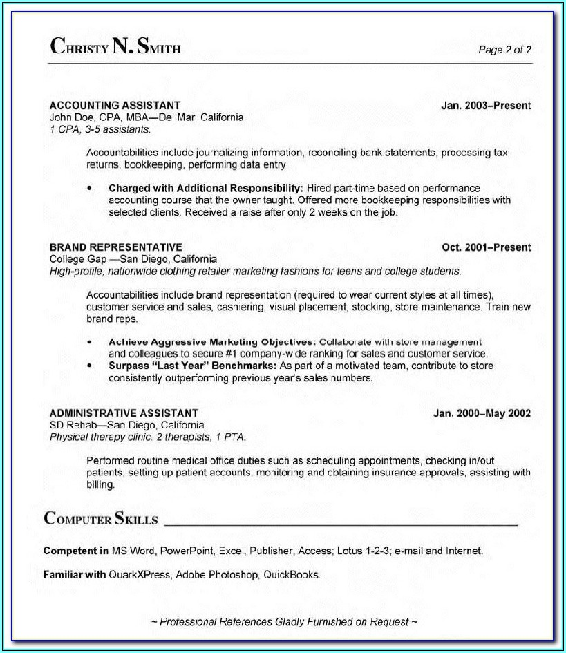 Resume Templates For Medical Billing And Coding