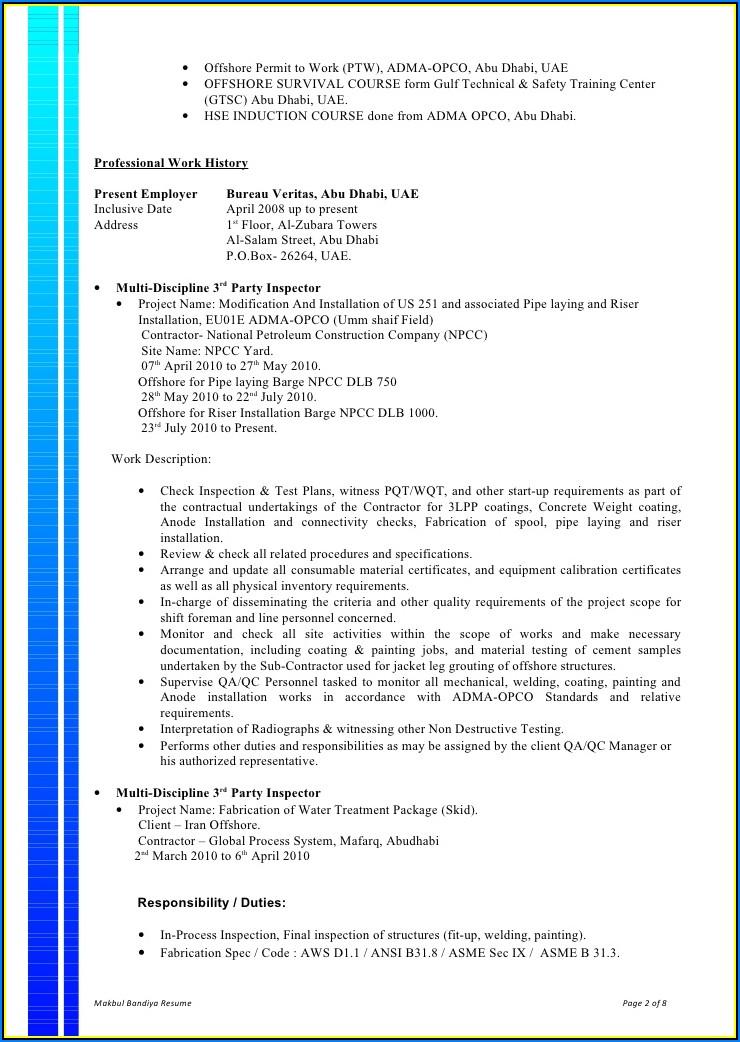 Resume Writing Courses Abu Dhabi
