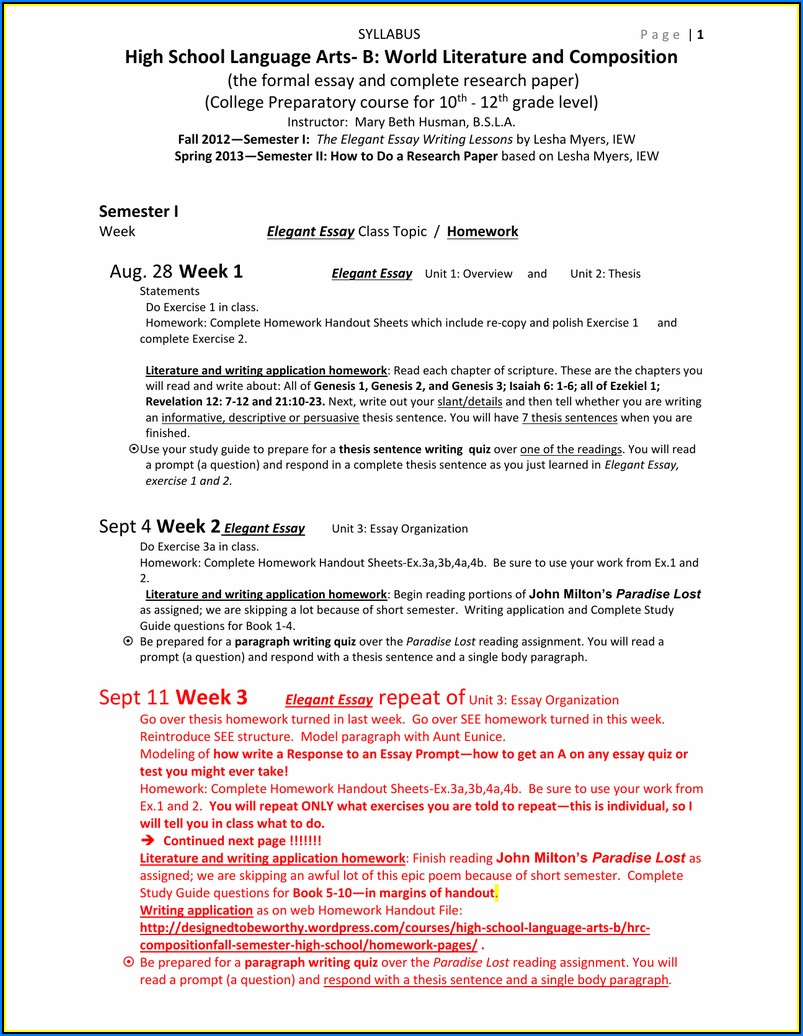Resume Writing Courses