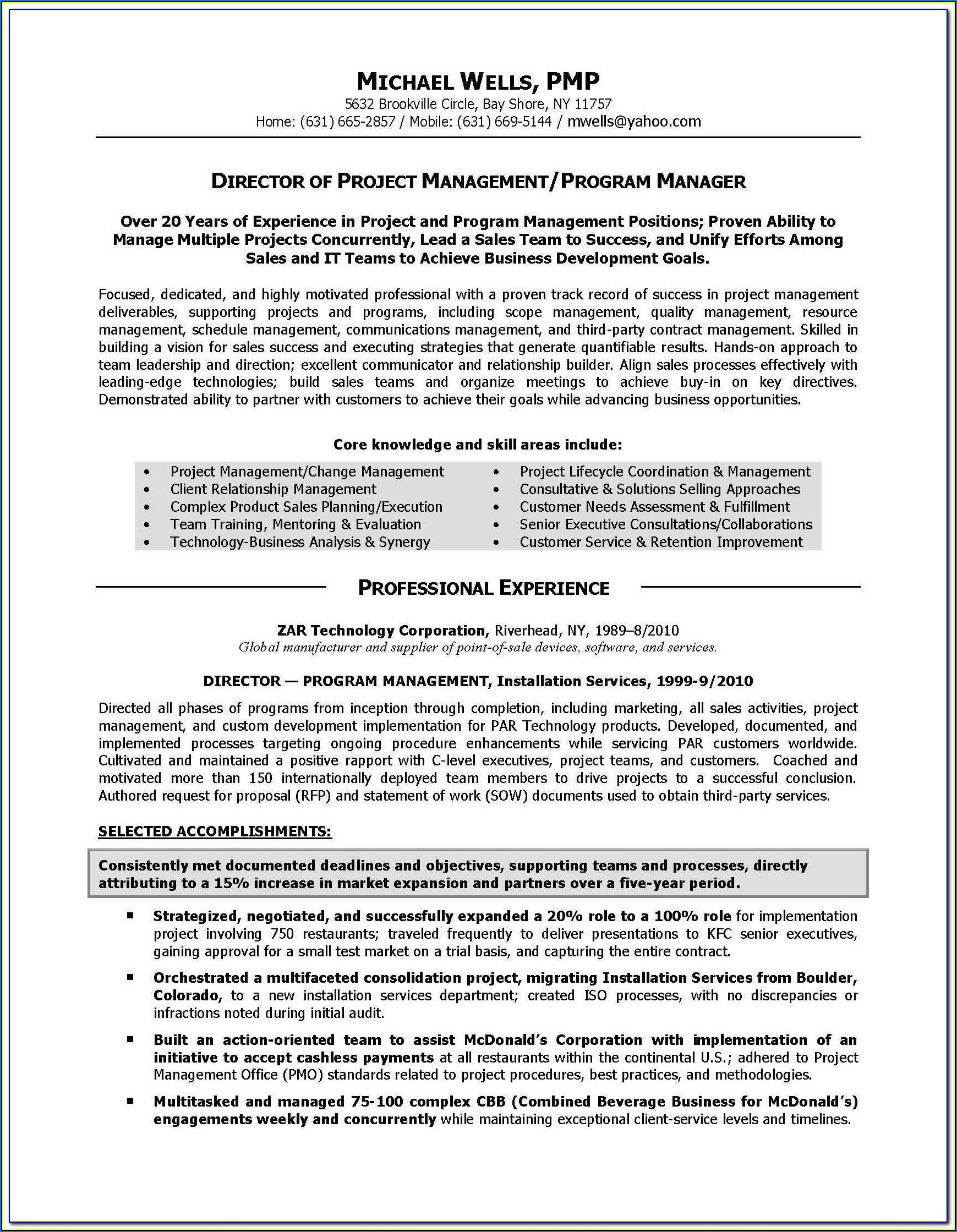 Resume Writing For Healthcare Professionals