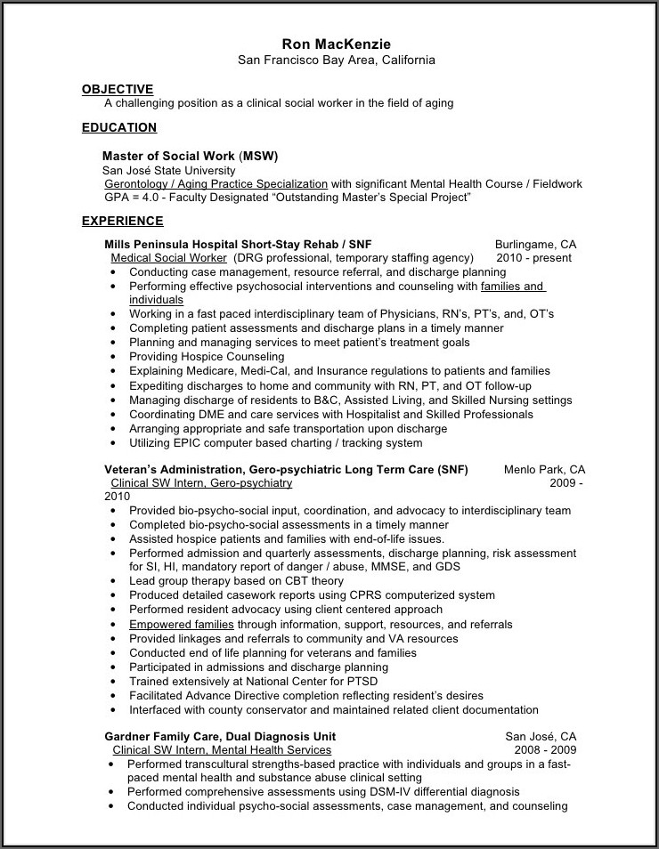 Resume Writing Help Nyc