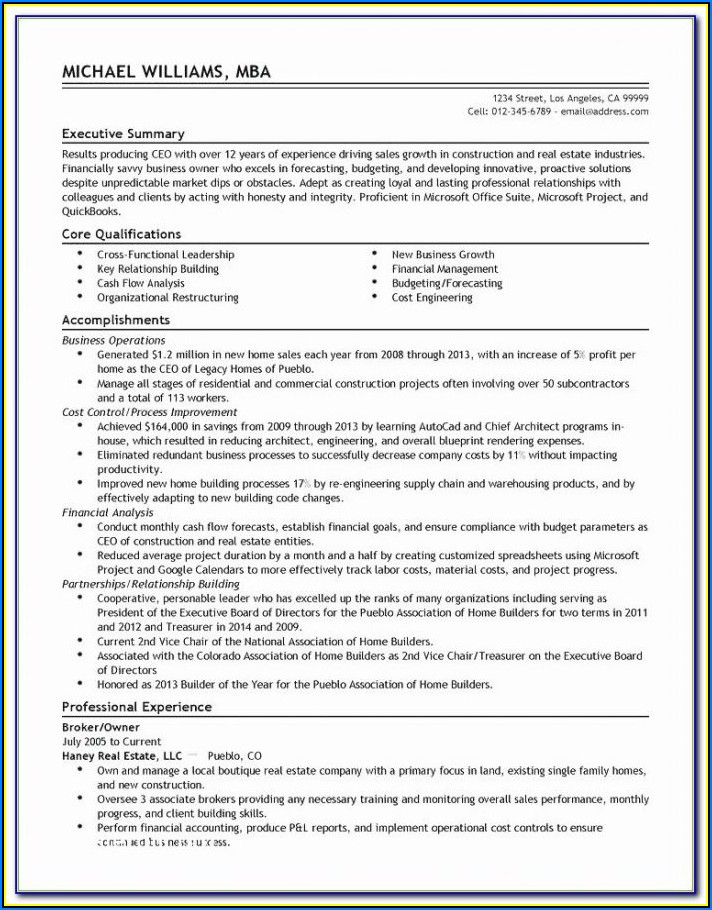 Resume Writing Nyc