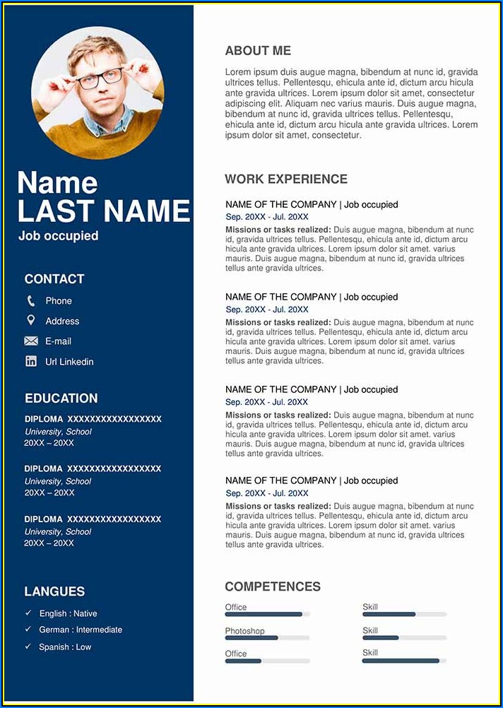 Sales Cv Template Free Download