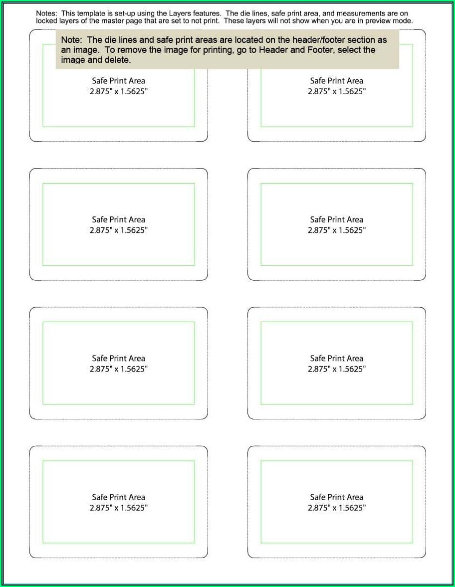 Table Tent Cards Template Free