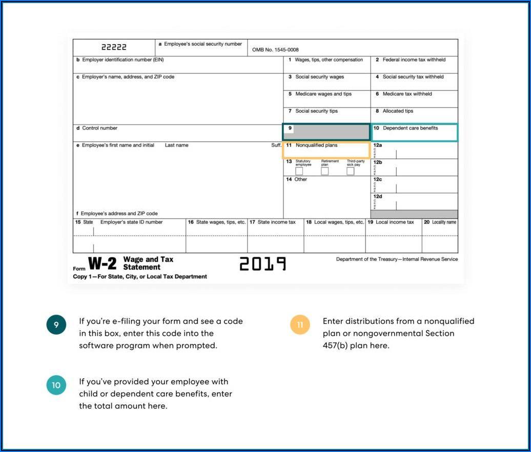 Tax Form W2 Box 12