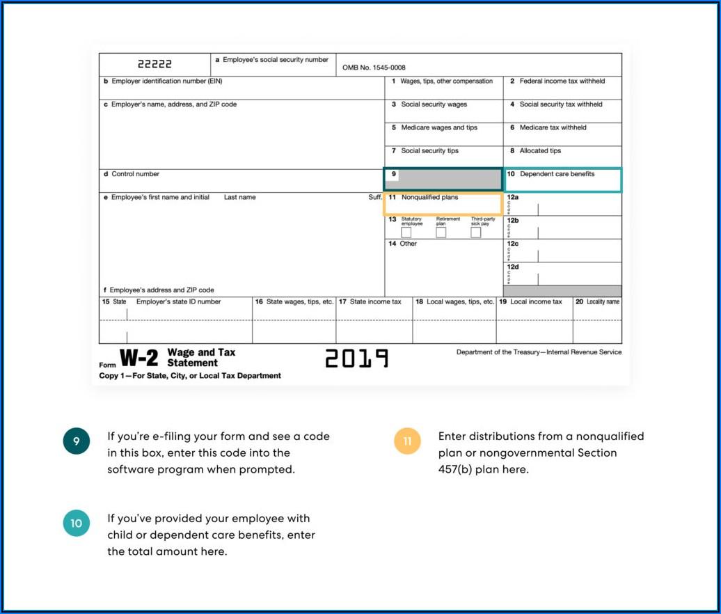 Tax Form W2 Box 12