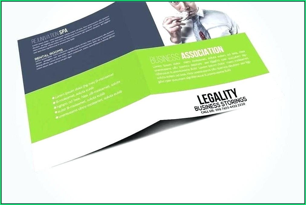 Tri Fold Pamphlet Template Word